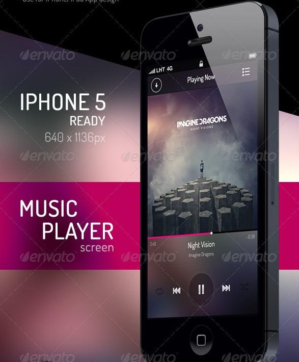 لایه باز موزیک موبایل 1