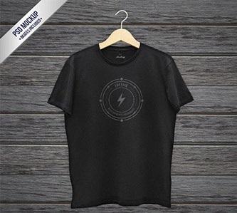 لایه باز مدل تی شرت سیاه