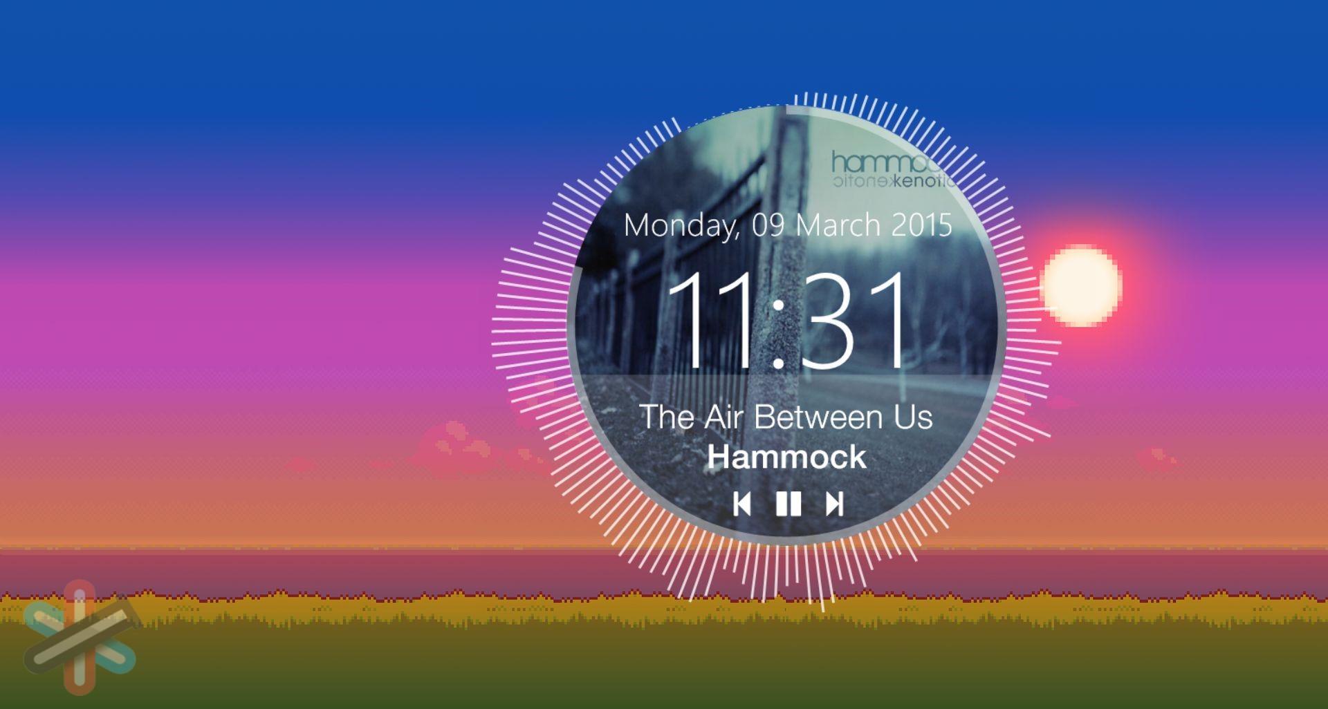 دانلود نرم افزار Rainmeter 4.3 – زیباسازی دسکتاپ