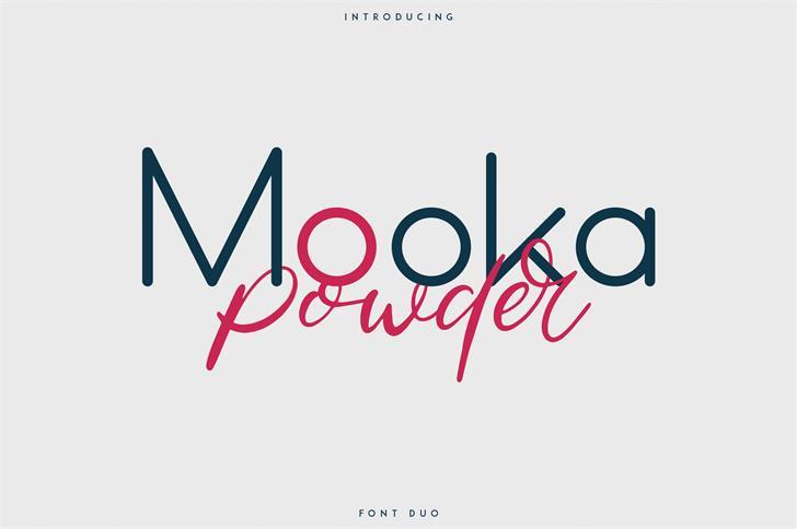 دانلود فونت Mooka font 1